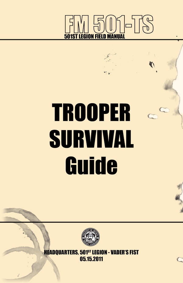 Trooper Survival Guide Cover