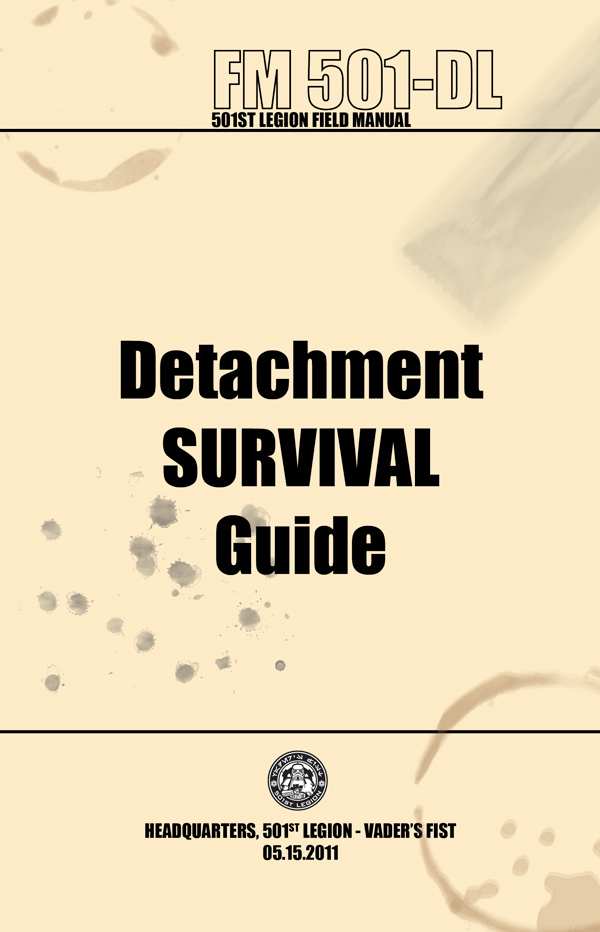 Detachment Survival Guide Cover